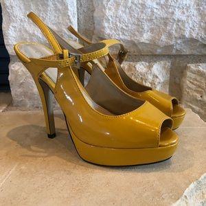 CATO Mustard Yellow Heels